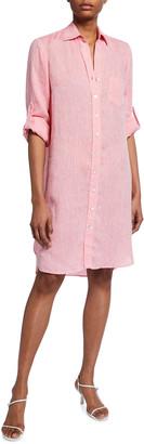 Finley Alex Linen Shirtdress