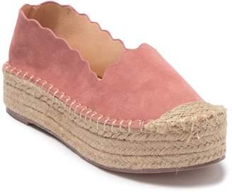 Chase & Chloe Papper Espadrille Platform Shoe
