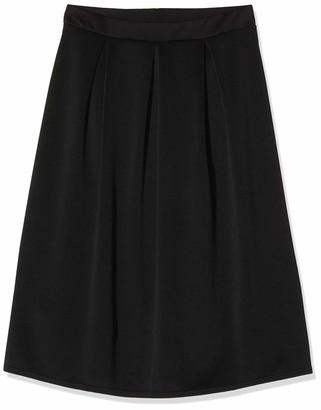Dorothy Perkins Women's Black Scuba Full Skirt 16