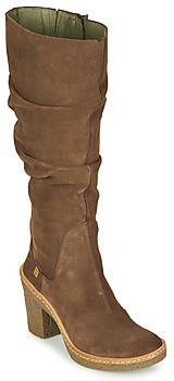 El Naturalista HAYA women's High Boots in Brown