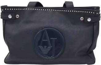Armani Jeans Blue Leather Handbags