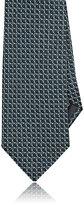 Ermenegildo Zegna Men's Geometric Silk Necktie-GREEN