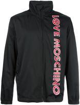 Love Moschino logo print jacket