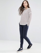Vila Classic Skinny Pants in Navy