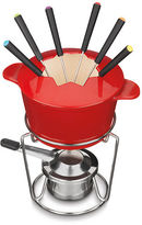 Cuisinart 13 Piece Cast Iron Fondue Set in Red