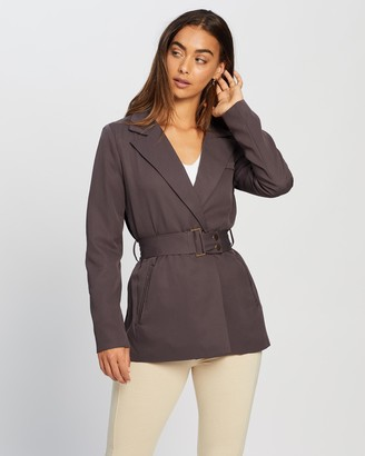 Missguided Co-Ord Belted Blazer