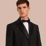 Burberry Classic Fit Wool Mohair Part-canvas Tuxedo , Size: 54r, Black