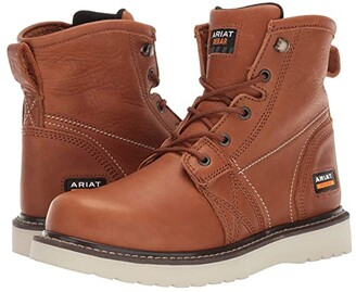 Ariat Rebar Wedge 6 (Golden Grizzly) Men's Work Boots