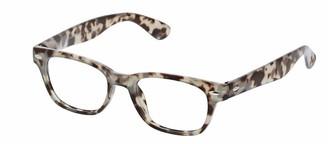 Peepers Unisex-Adult Clark 2590300 Square Reading Glasses