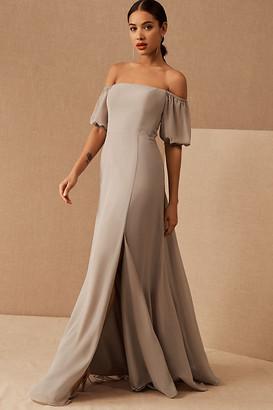 Jenny Yoo Jamie Dress By in Grey Size 0
