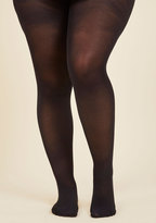 City Vivacity Tights in Black - Extended Size in PLUS