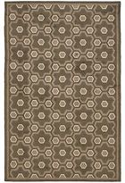 Martha Stewart Puzzle Molasses Brown Wool Rug (3' 9 X 5' 9)