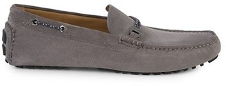 HUGO BOSS Suede Driving Moccasins