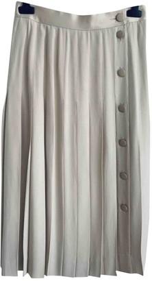 Celine Beige Skirt for Women Vintage