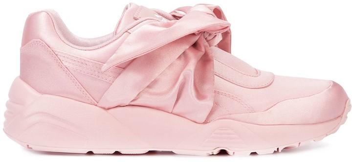 super popular f6746 98b20 bow sneakers