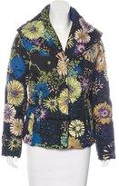 M Missoni Floral Print Puffer Jacket