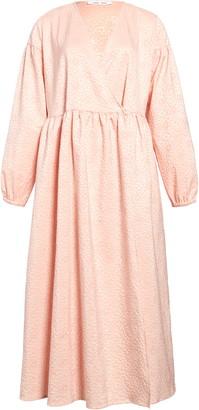 Samsoe & Samsoe Jolie Long Sleeve Oversize Midi Dress
