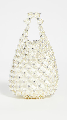 Simone Rocha Small Beaded Shopper Bag