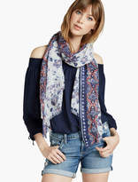 Lucky Brand Chintz Floral Scarf
