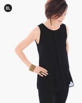 Chico's Pleat Back Layer Tank