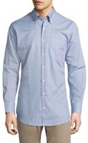 Peter Millar Crown Cape Glen Plaid Button-Down Shirt