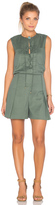 Derek Lam 10 Crosby Sleeveless Lace Up Romper