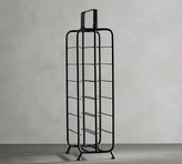 Pottery Barn Iron Caddy Tall Wine Rack