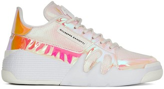 Giuseppe Zanotti Iridescent-Panel Low-Top Trainers