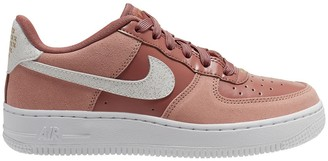 Nike Kids Air Force 1 LV8 Valentine's Day Leather Trainers