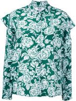 MSGM floral print shirt - women - Silk - 42