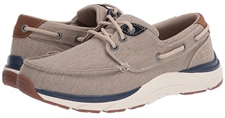 Skechers Relaxed Fit Sentinal - Hagman (Light Brown) Men's Shoes