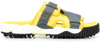 Off-White Oddsy touch strap sliders