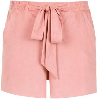 Olympiah tie detail Vicenza shorts