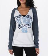 New Era Women's UNC Tar Heels College Burnout Raglan Pullover Hoodie