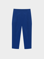 DKNY Cropped Pant With Side Zip