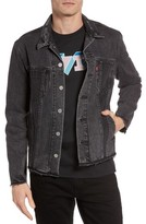 Levi's Men's Altered Distressed Denim Trucker Jacket