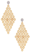 Marco Bicego Siviglia 18K Gold & 0.29 Total Ct. Diamond Drop Earrings