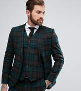 Heart & Dagger Slim Suit Jacket In Tartan