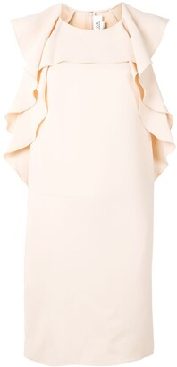 Victoria Victoria Beckham Draped Midi Dress