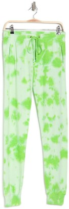 Theo And Spence Tie Dye Print Jogger Pants