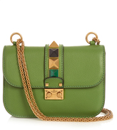 Valentino Lock Rolling small leather shoulder bag