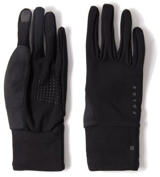 Falke Logo-print Technical Gloves - Black
