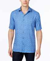 Alfani Men's Abstract-Print Short-Sleeve Shirt, Classic Fit, Only at Macy's