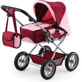 Bayer Combi Grande Doll's Pram - Bordeaux