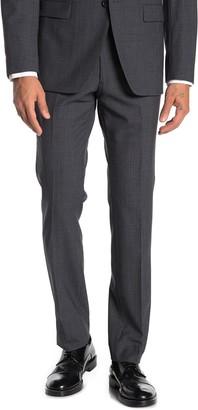 John Varvatos Grey Birdseye Wool Suit Separates Trousers