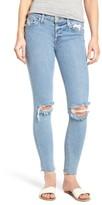 Hudson Women's Nico Raw Hem Ankle Super Skinny Jeans