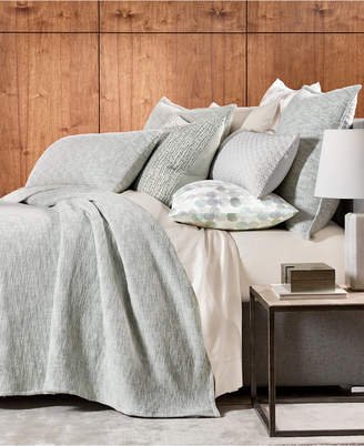 Hotel Collection Seaglass Cotton Full/Queen Coverlet, Bedding