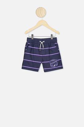 Nrl Boys Stripe Board Short