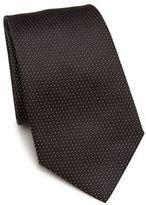 Armani Collezioni Diamond Dot Silk Tie