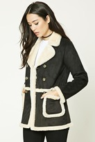 Forever 21 Faux Shearling-Lined Coat